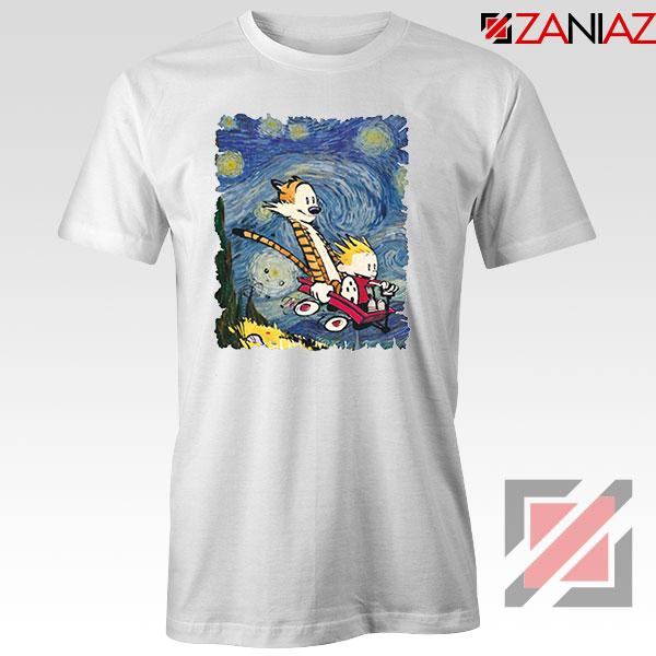 Calvin and Hobbes Stary Night Tshirt