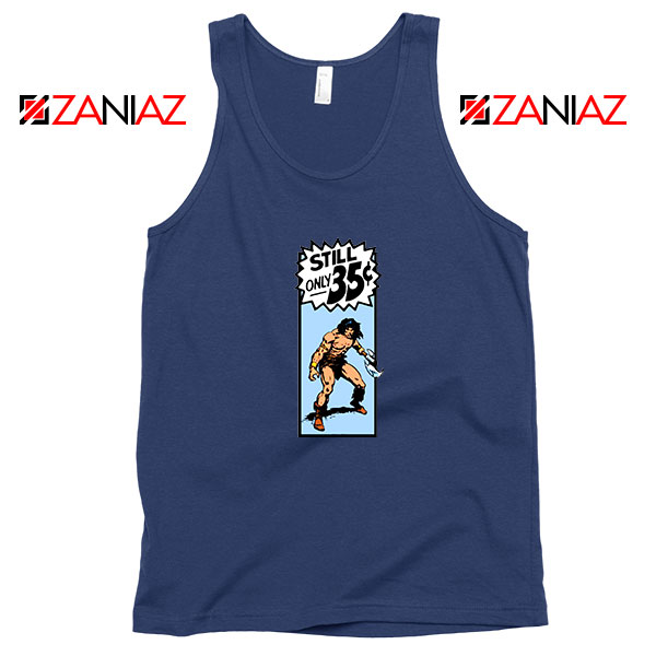 Conan By Crom Film Best Navy Blue Tank Top