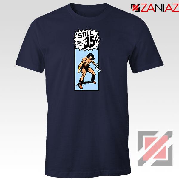 Conan By Crom Film Best Navy Blue Tshirt
