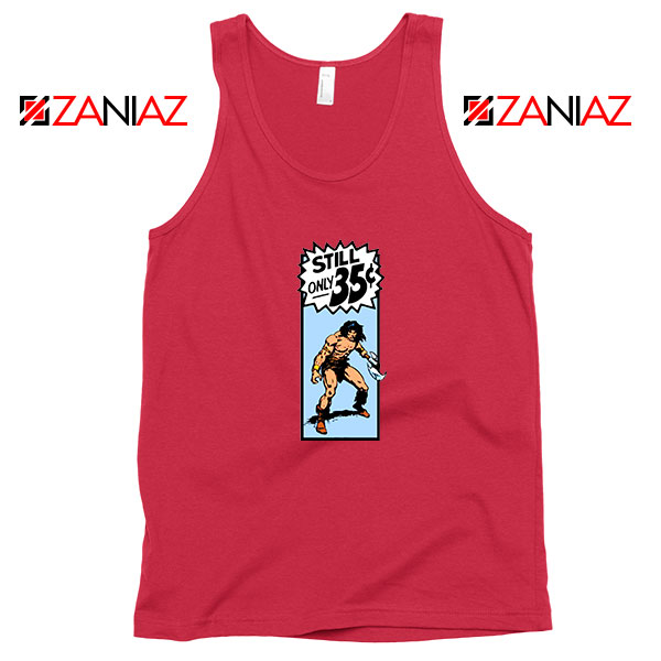 Conan By Crom Film Best Red Tank Top