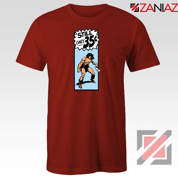 Conan By Crom Film Best Red Tshirt