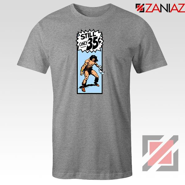 Conan By Crom Film Best Sport Grey Tshirt