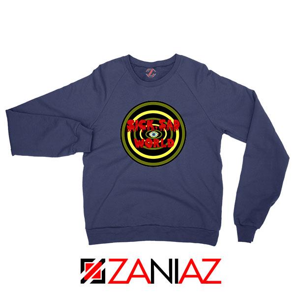 Daria Sick Sad World Best Navy Blue Sweatshirt