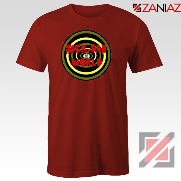 Daria Sick Sad World Best Red Tshirt