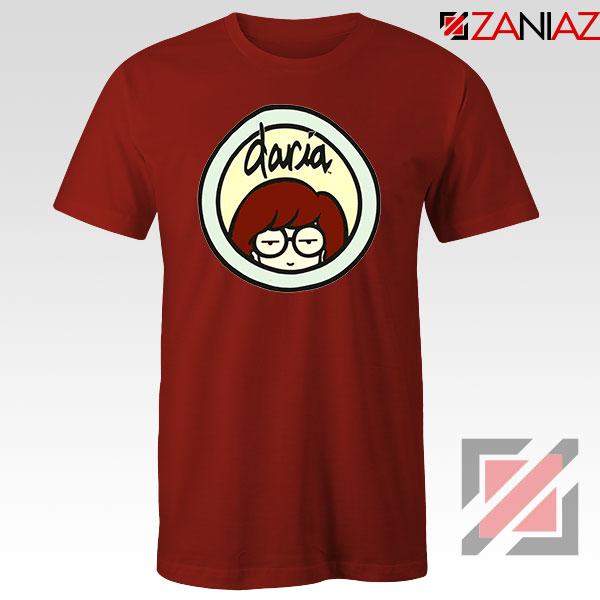 Daria Sitcom Best Red Tshirt