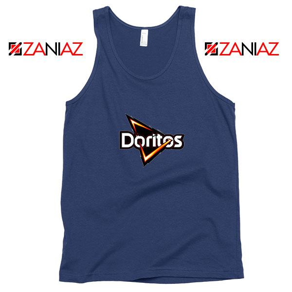 Doritos Tortilla Chips Best Navy Blue Tank Top