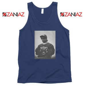 Eazy E American Rapper Best Navy Blue Tank Top