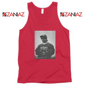 Eazy E American Rapper Best Red Tank Top