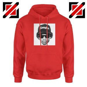 Eazy E Compton 2021 Best Red Hoodie