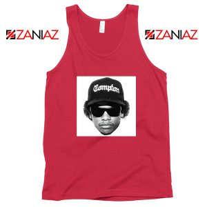 Eazy E Compton 2021 Best Red Tank Top
