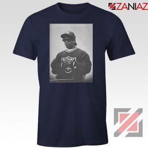 Eazy E Rapper Gameplan Best Navy Blue Tshirt