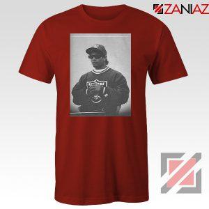 Eazy E Rapper Gameplan Best Red Tshirt