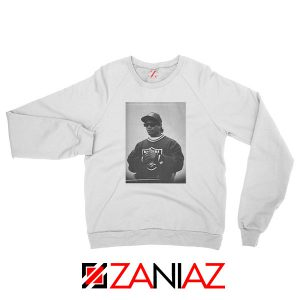 Eazy E Rapper Gameplan White Sweatshirt
