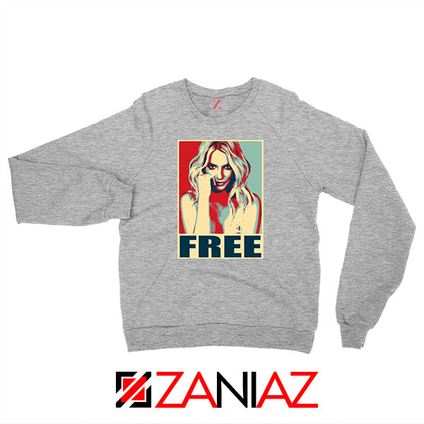 Free Britney Pop Art 2021 Sport Grey Sweatshirt