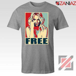 Free Britney Pop Art 2021 Sport Grey Tshirt