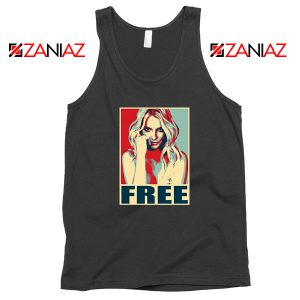 Free Britney Pop Art Cheap Tank Top