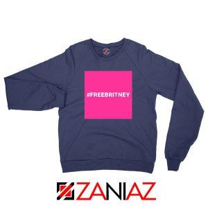 Hashtag Free Britney Best Navy Blue Sweatshirt