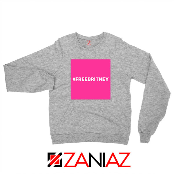 Hashtag Free Britney Best Sport Grey Sweatshirt