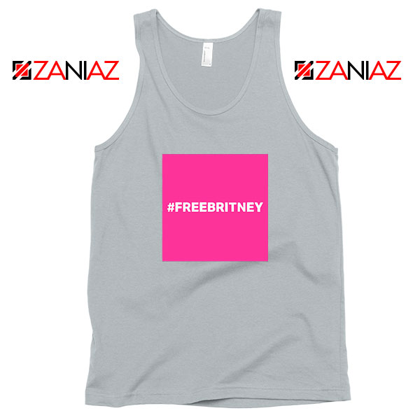 Hashtag Free Britney Best Sport Grey Tank Top