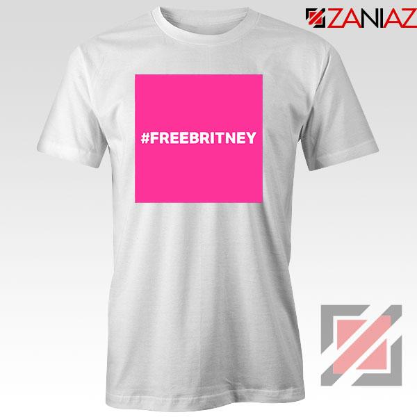 Hashtag Free Britney Singer White Tshirt