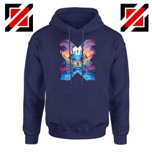 Hoxpox Marvel Comics Best Navy Blue Hoodie