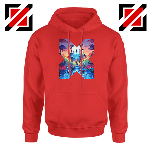 Hoxpox Marvel Comics Best Red Hoodie