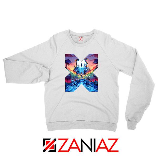 Hoxpox Marvel Comics White Sweatshirt