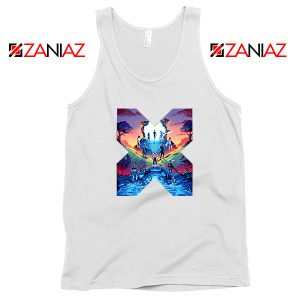 Hoxpox Marvel Comics White Tank Top