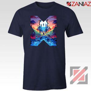 Hoxpox Marvel Universe Navy Blue Tshirt