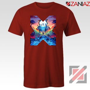 Hoxpox Marvel Universe Red Tshirt