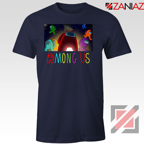 Imposter Inspired Game New Navy Blue Tshirt