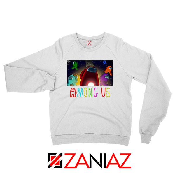 Imposter Inspired Game White Sweatshirt