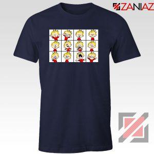 Kinds of Calvin Face 2021 Navy Blue Tshirt