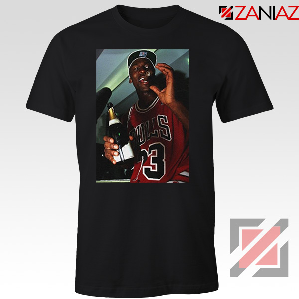 MJ Trophies NBA 2021 Best Black Tshirt