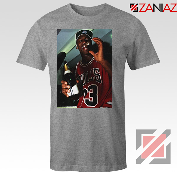 MJ Trophies NBA 2021 Best Sport Grey Tshirt