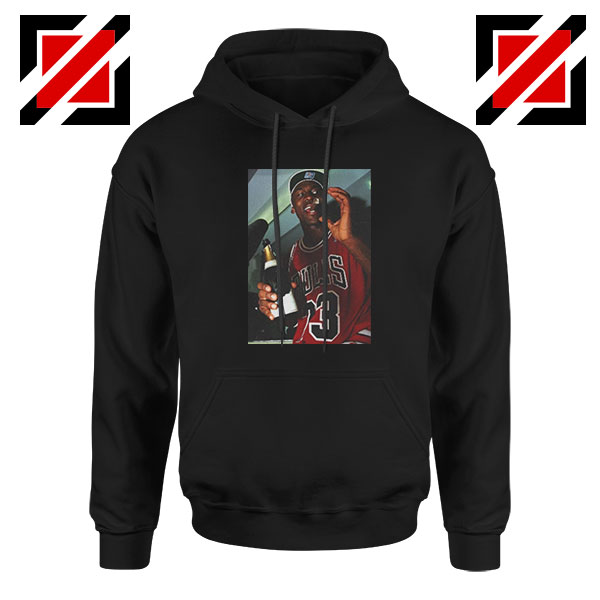 MJ Trophies NBA Best 2021 Black Hoodie