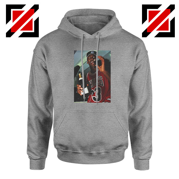 MJ Trophies NBA Best 2021 Sport Grey Hoodie
