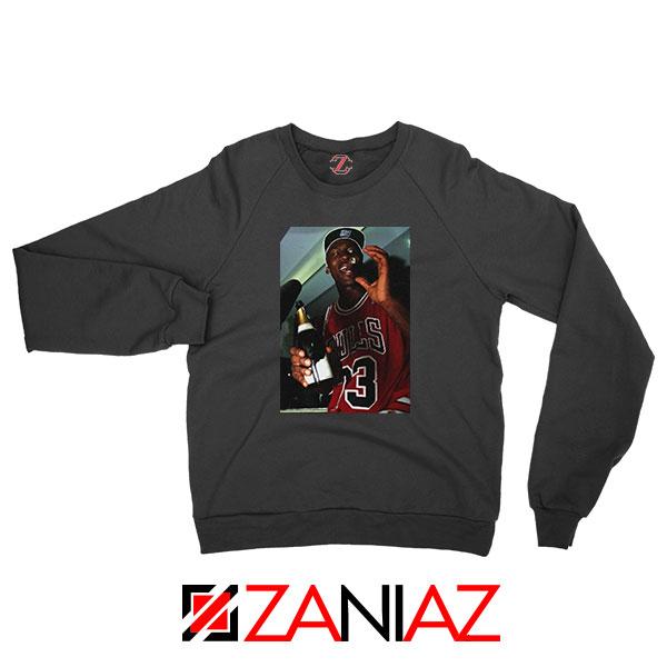 MJ Trophies NBA Best Black Sweatshirt