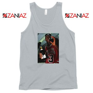 MJ Trophies NBA Best Sport Grey Tank Top