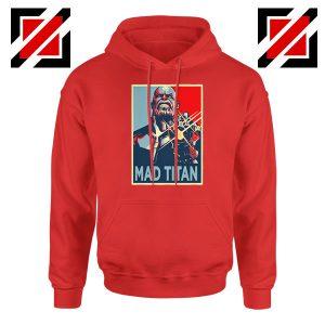 Mad Titan Supervillain Best Red Hoodie