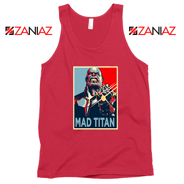 Mad Titan Supervillain Best Red Tank Top