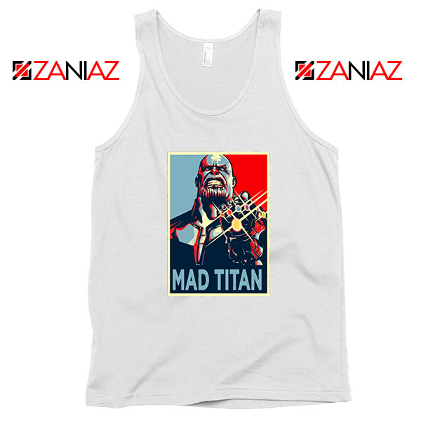Mad Titan Supervillain Best White Tank Top