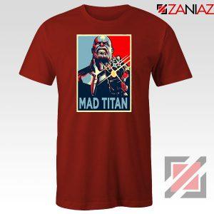 Mad Titan Supervillain Red Tshirt