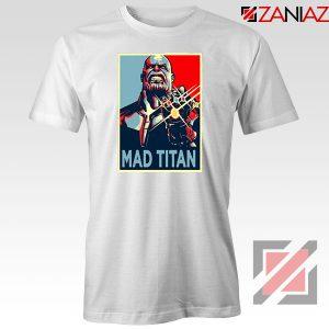 Mad Titan Supervillain White Tshirt