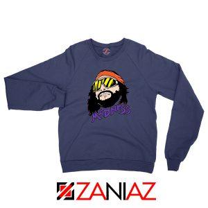 Madnes Macho Man 2021 Navy Blue Sweatshirt