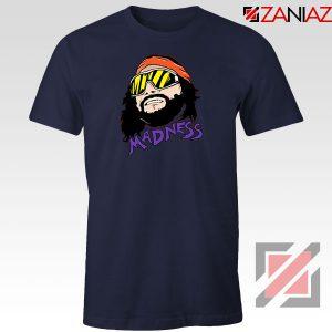 Madnes Macho Man Best Navy Blue Tshirt