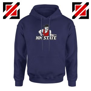 New Mexico State University Navy Blue Hoodie