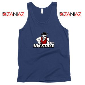 New Mexico State University Navy Blue Tank Top