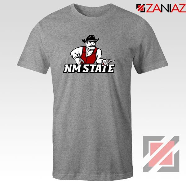New Mexico State University Sport Grey Tshirt