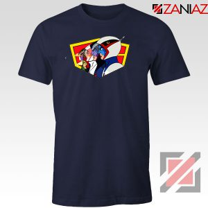 Ninja Team Gatchaman Anime Navy Blue Tshirt